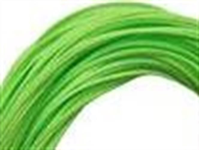 """חבל/ חוט זריקה  צבע ירוק  1.8 מ""""מ - מחיר למטר"""