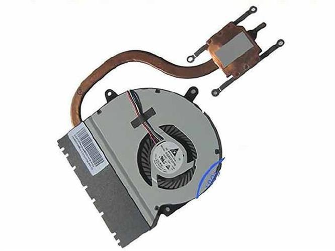 מאוורר כולל גוף קירור לנייד אסוס Asus X401 KSB0705HB Cooling Fan DC5V 0.40A, Heatsink fan , -CA29, 13GN3O1AM020