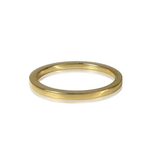 טבעת נישואין זהב 18K