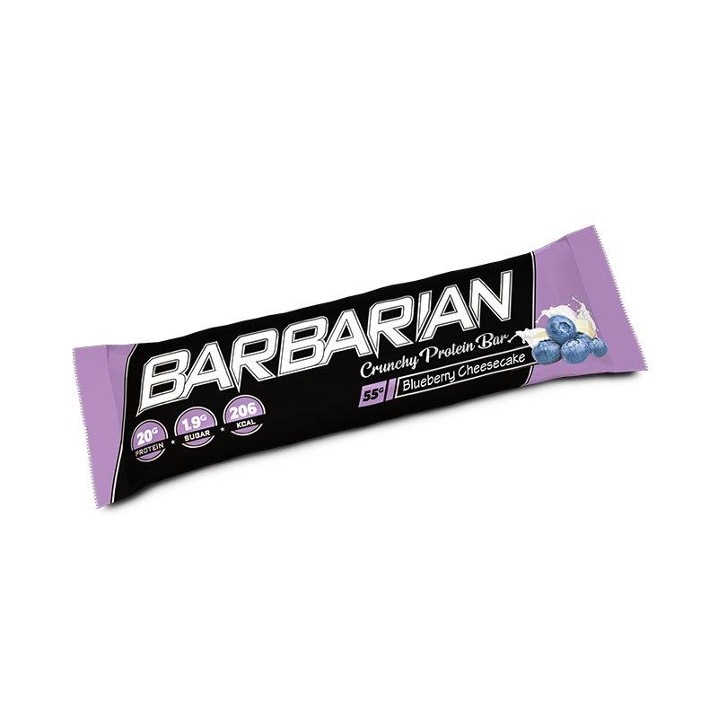 Barbarian Stacker Protein Bar  כשר בטעם חדש עוגת גבינה אוכמניות