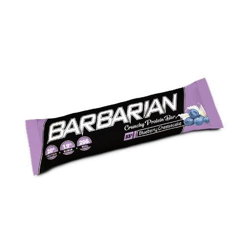 Barbarian Stacker Protein Bar| כשר בטעם חדש עוגת גבינה אוכמניות