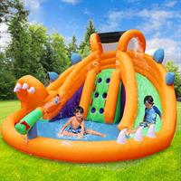 מתקן קפיצה מתנפח רטוב עם מים דרקון רטוב - W3636 - The Wet Dragon מבית Jumpy Jump העולמית