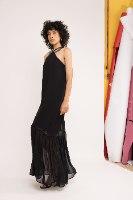 שמלת טינקרבל - שחור