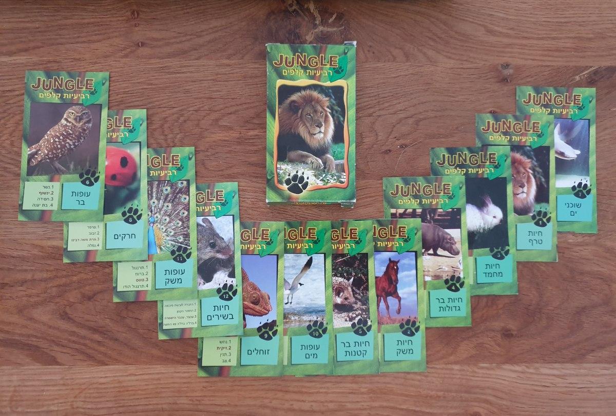 רביעיות חיות-Jungle