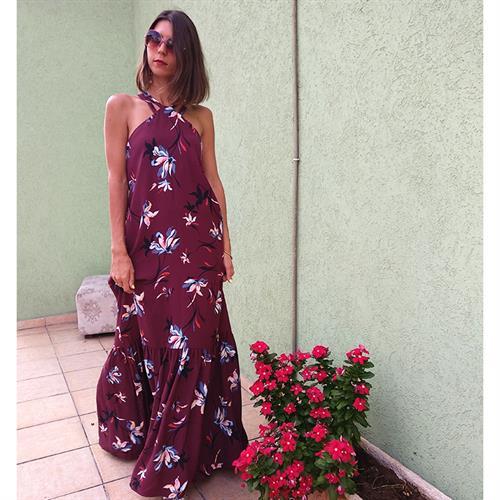 שמלת טינקרבל שזיף פרחוני