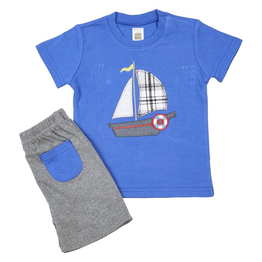 חליפה סירה כחול