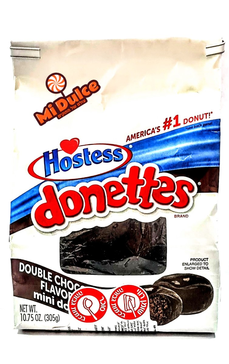 Hostess Double Chocolate Donettes