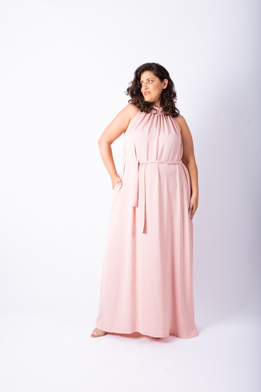 שמלת אליס מקסי ורוד בייבי