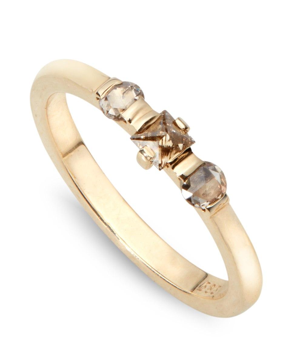 טבעת מרלין זהב 14 קראט