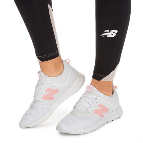 נעלי נשים ניו באלאנס צבע לבן ורוד  דגם WRL247EN