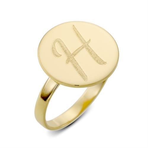 טבעת חותם - עיגול