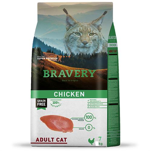 """ברוורי מזון לחתולים עוף טבעי 7 ק""""ג"""