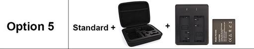 OPTION 5 - מצלמת אקשן  EKEN 4K דגם H9 מקורית! Ultra HD 4K WiFi 1080P/30fps