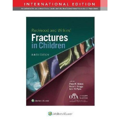 Rockwood and Wilkins Fractures in Children