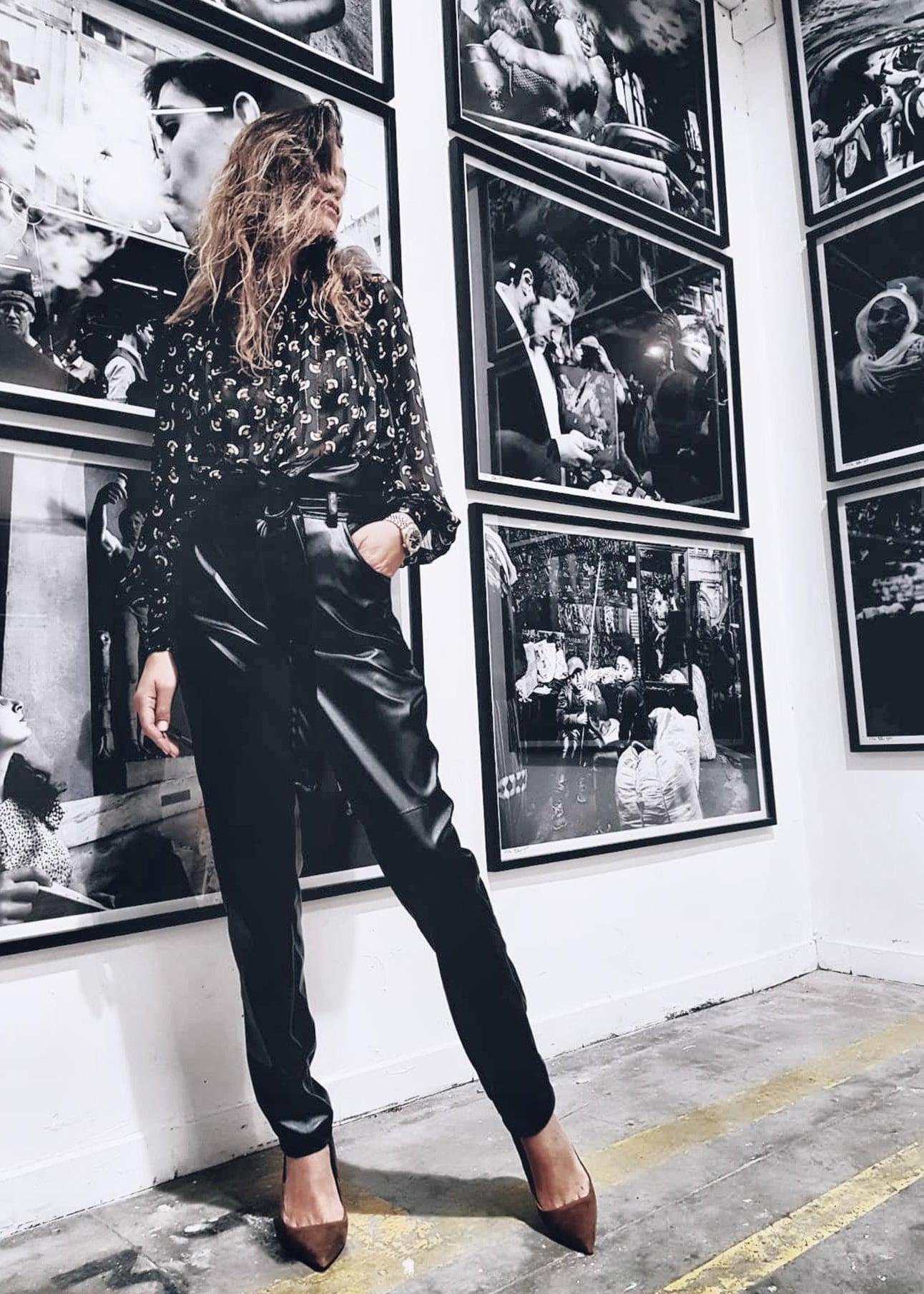 מכנסיים ברדלי שחור