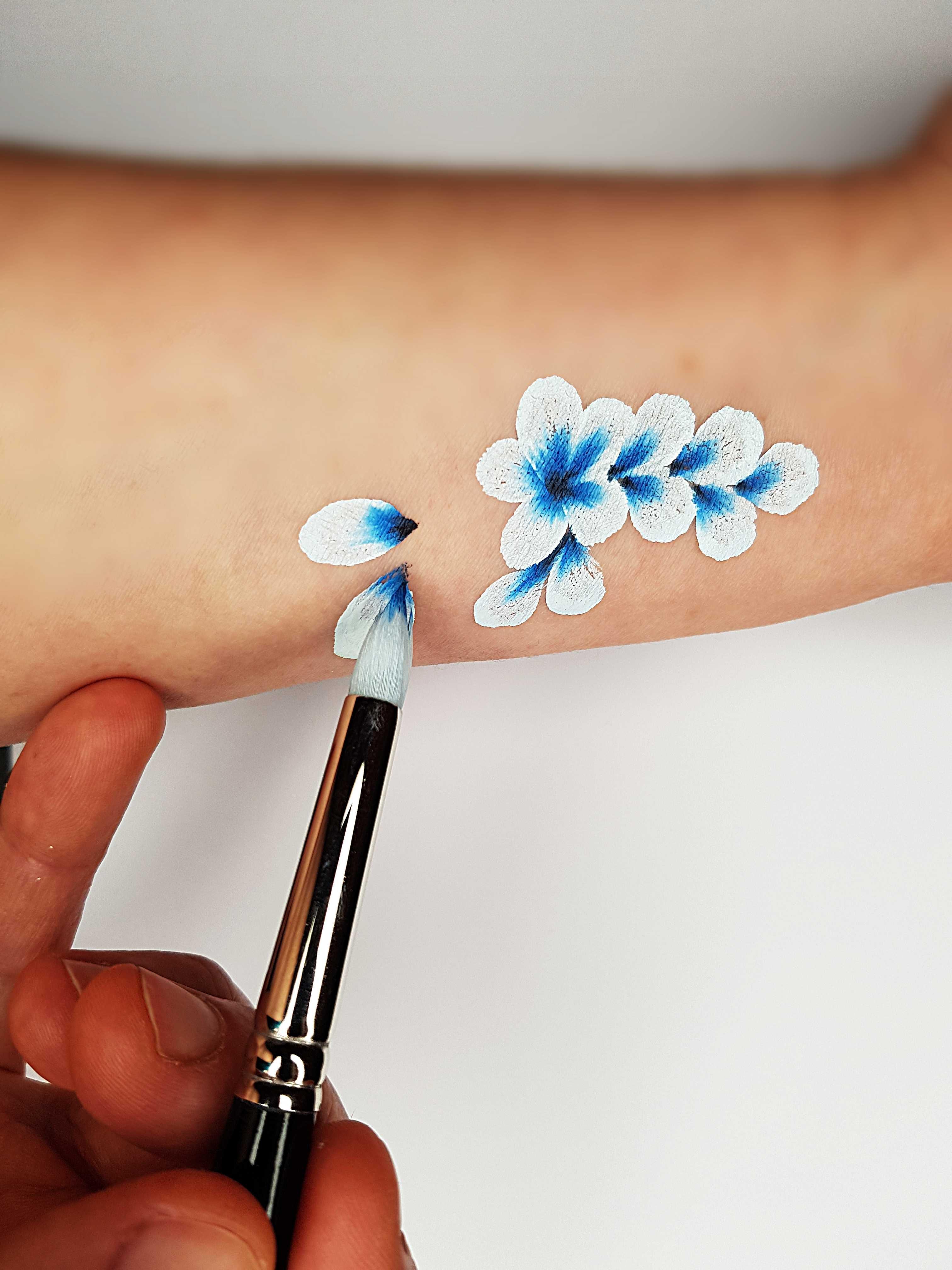 מכחול פרחים dbl dip