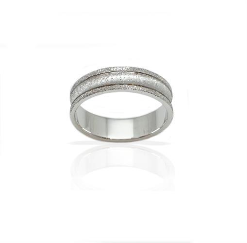 טבעת נישואין מעוצבת  - דגם M213