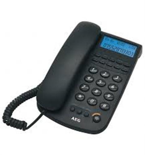 טלפון שולחני קווי AEG AG348