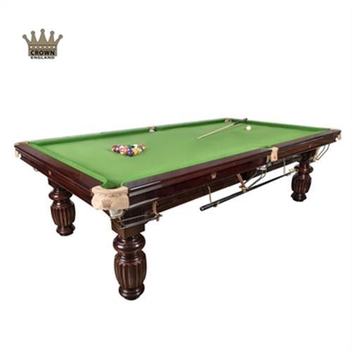 שולחן סנוקר 8 פיט חום CROWN