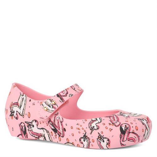 נעלי בובה ורודות חד קרן MINI MELISSA