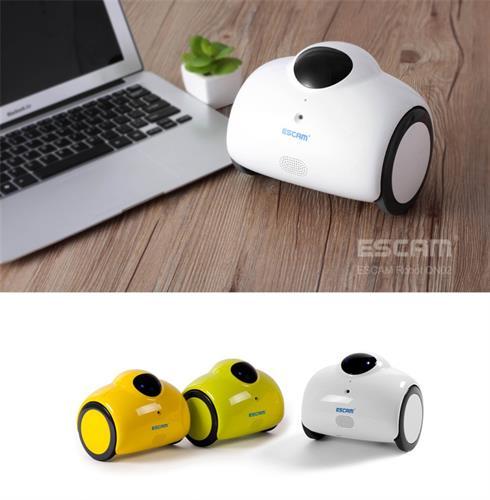 Escam רובוט QN02 WIFI אלחוטי IP מצלמה HD 720P 1MP שליטה ממכשיר הטלפון