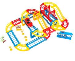 מסלול מכוניות 45 חלקים