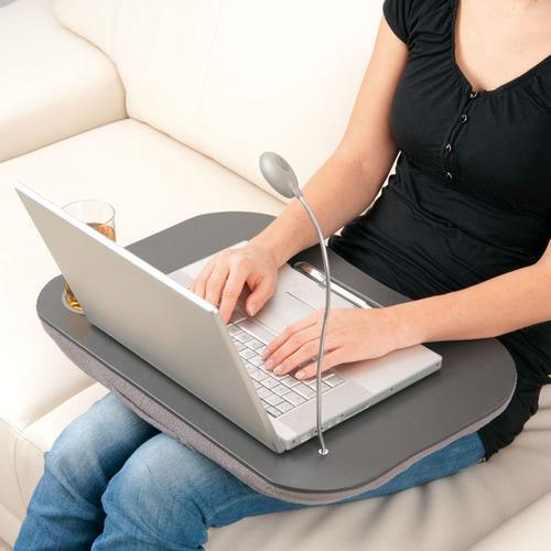 מגש פינוק למחשב נייד או טאבלט