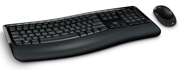 מקלדת ועכבר Microsoft Wireless Comfort Desktop 5050 מיקרוסופט