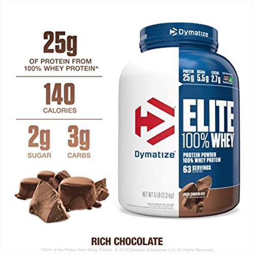 Dymatize Whey Protein Elite אבקת חלבון דיימטייז עלית+הטבה!