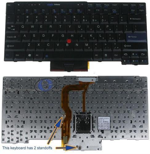 מקלדת למחשב לנובו Lenovo Thinkpad T400S T410 T410I T410S US Keyboard 45N2141, 45N2071
