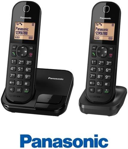 Panasonic טלפון אלחוטי + שלוחה אחת דגם KX-TGC412MBB