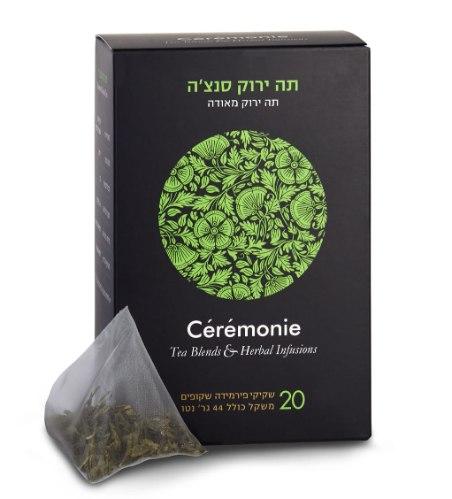 חליטת תה ירוק סנצ'ה 20 יח'