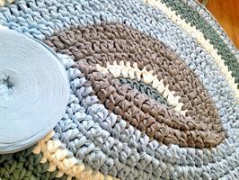 שטיחים, שטיחים סרוגים, שטיח עגול, שטיח לחדר של תינוק, מתנה לברית