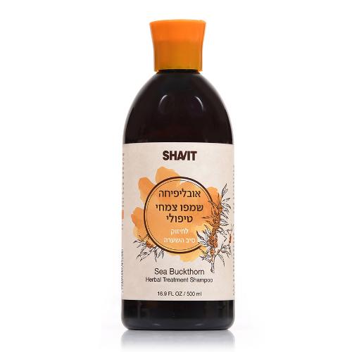 -- שמפו צמחי טיפולי אובליפיחה -- 500 מל - שביט