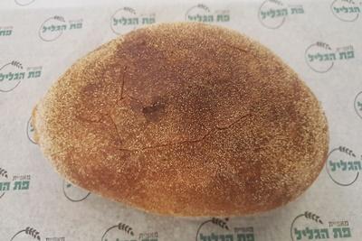 לחם מחמצת צרפתית ללא סוכר, שמרים ושמן