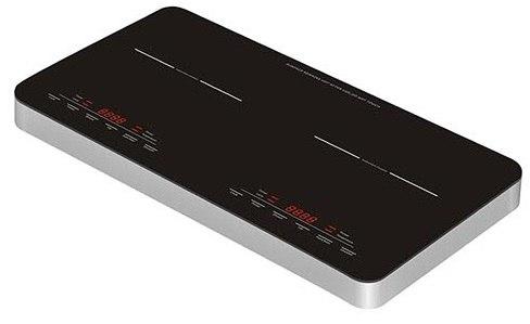 כיריים קרמיות Normande BI-C02-2 InfraRed Touch 3150W