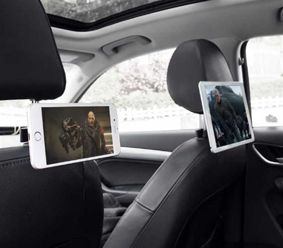 מעמד אוניברסלי מגנטי למושב האחורי ברכב