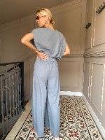 מכנסי מדו - אפורים