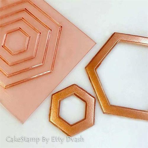 Geometric hexagon