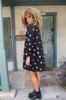 שמלת דוטי נקודות