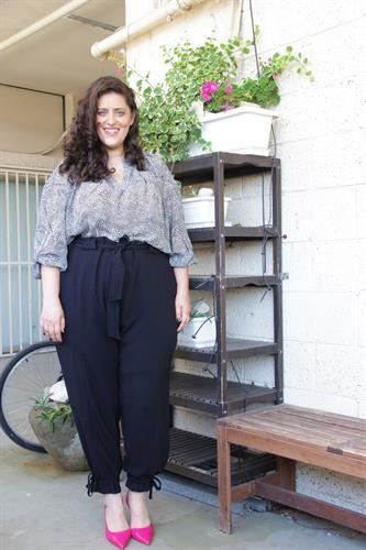 מכנס נורמן שחור