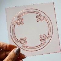 NEW YORK Frame Embosser Stamp NEW YORK Frame Flexible Polymer Stamp For Fondant And Chocolate|NEW