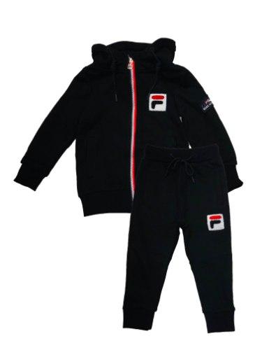 חליפת ג'אקט FILA לוגו אדום 2-8