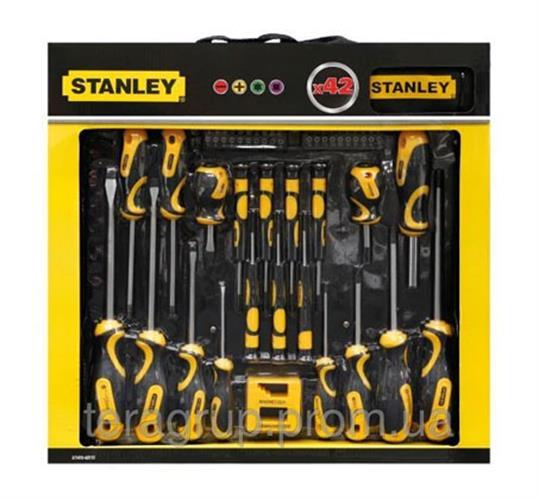 סט 42 חלקים תוצרת STANLEY