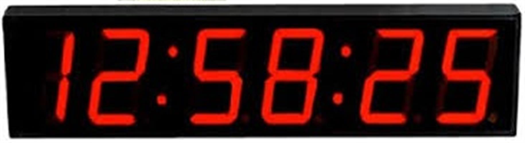 שעון קיר לד חשמלי GOLF 4818R גולף
