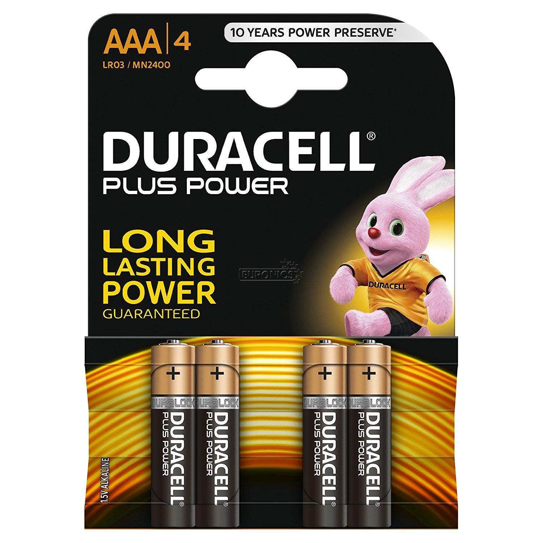 בטריות סוללות דורסל AAA 4 יחידות