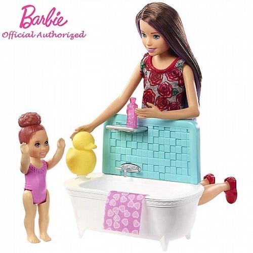 ברבי עם אמבטיה