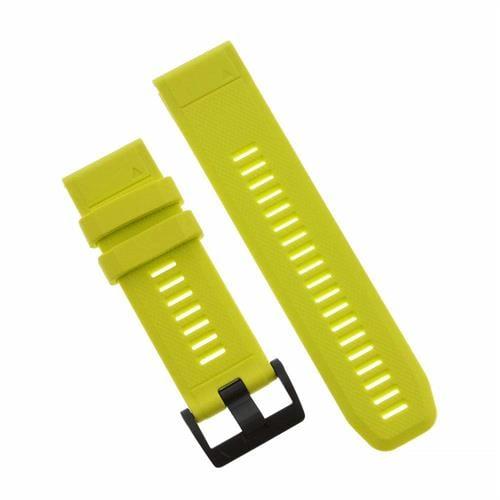 רצועה צהובה מקורית לשעון Garmin Fenix 5X QuickFit 26 Watch Bands