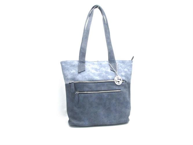 תיק אופנה כחול