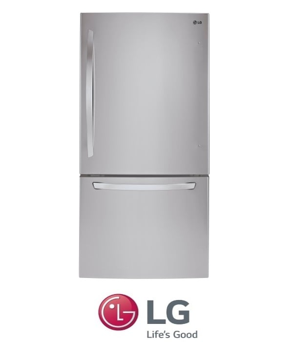 LG מקרר מקפיא תחתון דגם: GM-650S נירוסטה